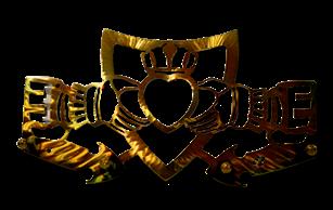Claddagh Five Hook Key Rack
