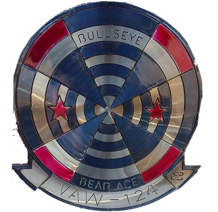 "17""  Squadron VAW-124 Medallion"