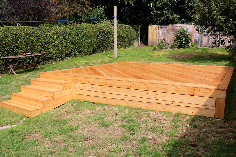 Siberian larch deck and stepsIMG_9561FSm