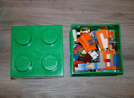 Hide your Toys in Legos!
