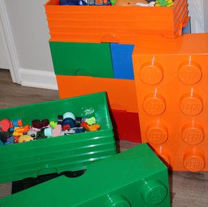 Giant LEGO Storage Bricks