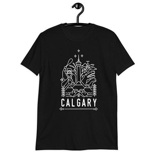 Calgary Short-Sleeve Unisex T-Shirt