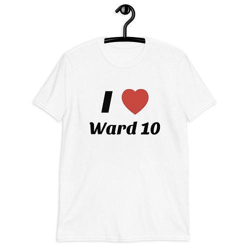 I Heart Ward 10 Short-Sleeve Unisex T-Shirt
