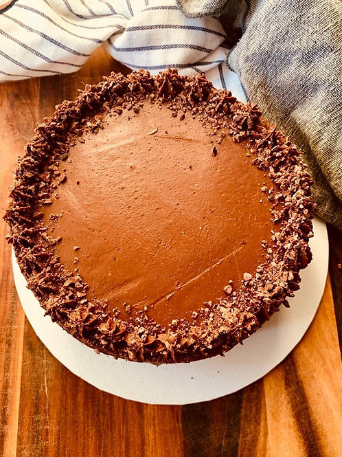 Coconut Cake and Chocolate Frosting - GF, DF, RSF