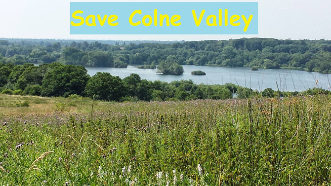 Stop HS2 - save Colne Valley