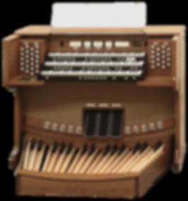 Used Allen CF-30 Drawknob Organ