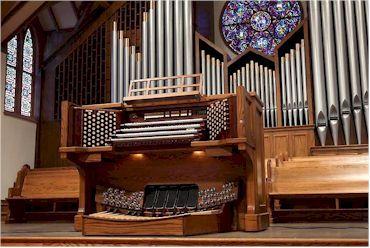Allen Organ Installation - Falls Church Presbyterian