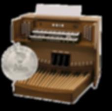 Used Allen Chapel Series CF-15 Organ