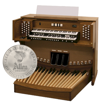 Used Allen Chapel Series CF-15 Organ