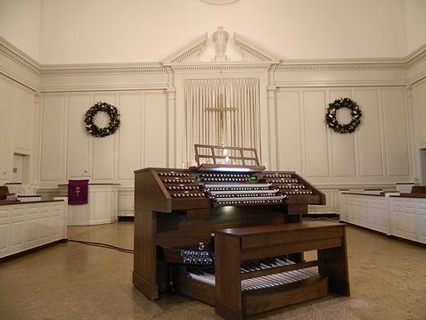 Allen Organ Installation - Grace Baptist Church