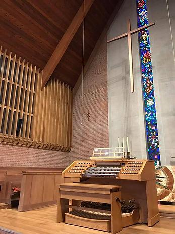Allen Organ Installation - North Bethesda United Methodist Church