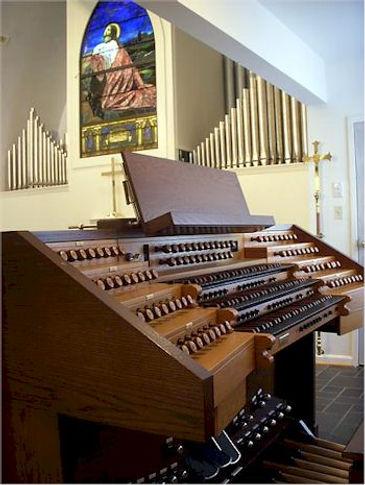 Allen Organ Installation - Trinity Episcopal Church