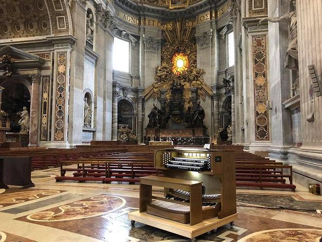 Allen Organ in St. Peter's Basilica, Rome