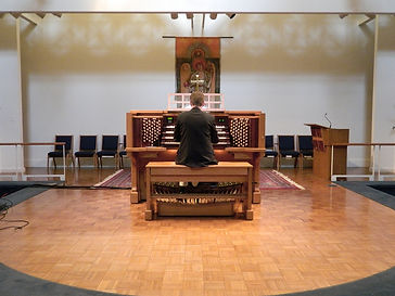 Custom Allen Organ - St. Anne's Episcopal Church