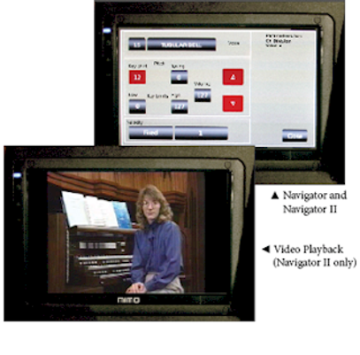 Allen Vista Navigator Video Playback