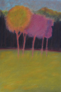 Gekleurde bomen