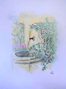 Frans waterfonteintje