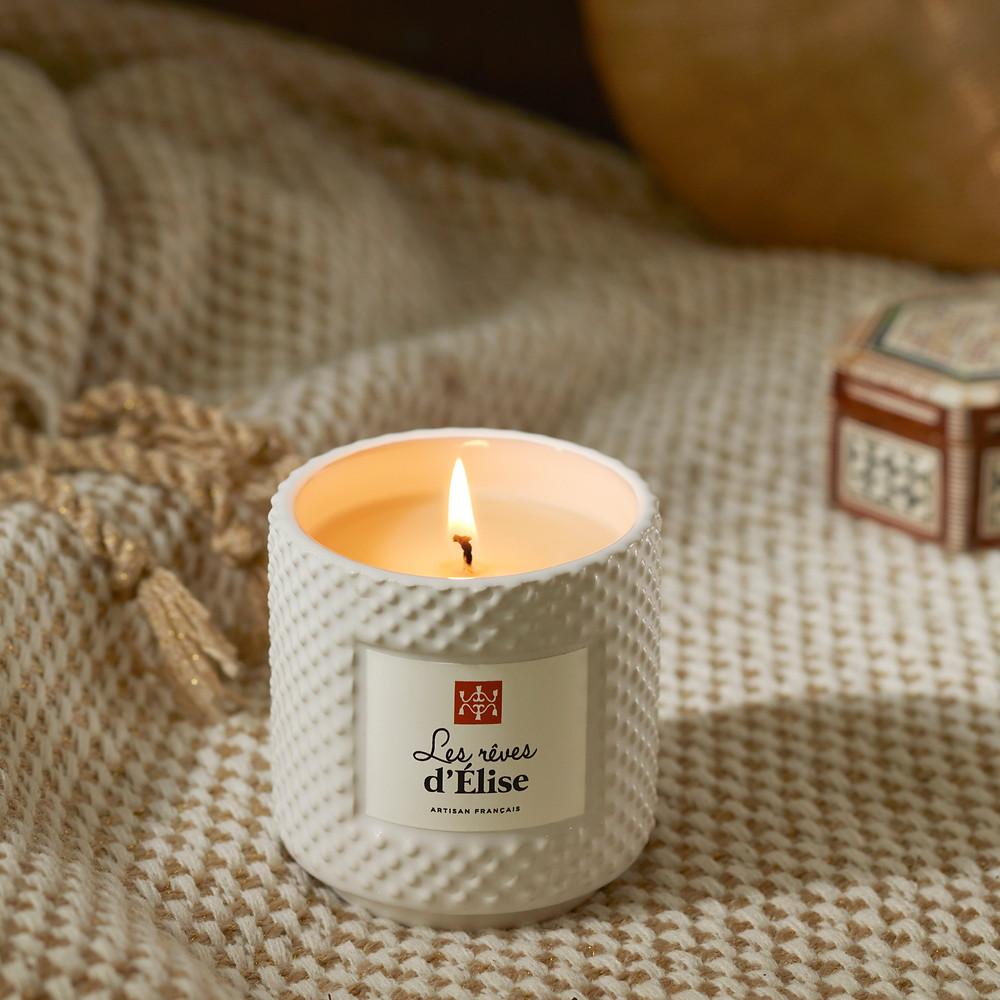 bougies naturelles cire d'abeille françaises
