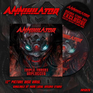ANNIHILATOR celebrate Record Store Day with the release of TRIPLE THREAT UNPLUGGED as a LIMITED EDIT