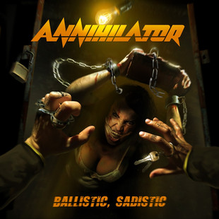 NEW 17th, Studio cd from ANNIHILATOR coming this week! Friday, January 24, 2020 is the day BALLISTIC