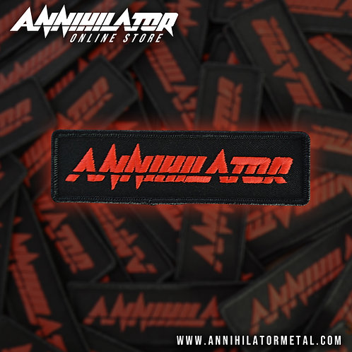 ANNIHILATOR RECTANGLE LOGO PATCH