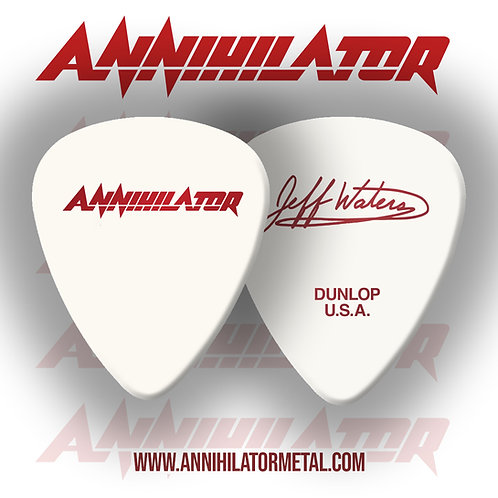 ANNIHILATOR SIGNATURE PICK - WHITE  (2 pack)