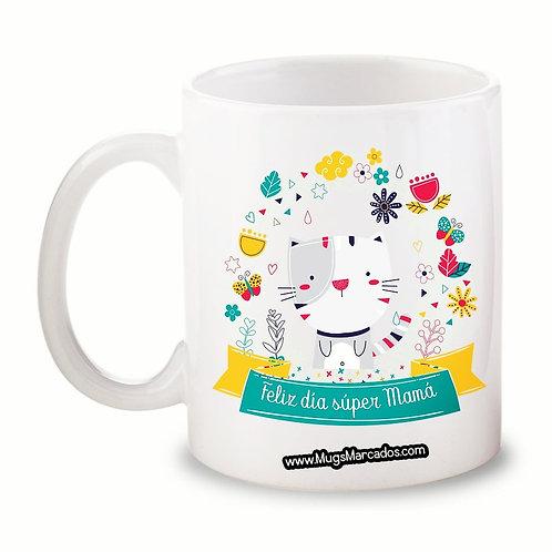 Día de la Madre | #102 | Regalo Personalizado | Mug Blanco 11 Oz