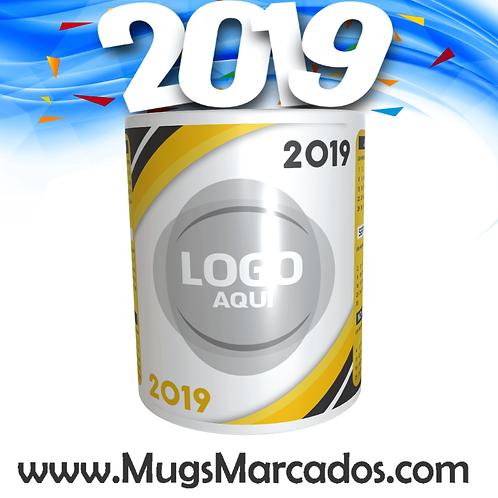 CALENDARIO 2019 | # 5 | MUG CALENDARIO | MUGS PERSONALIZADOS