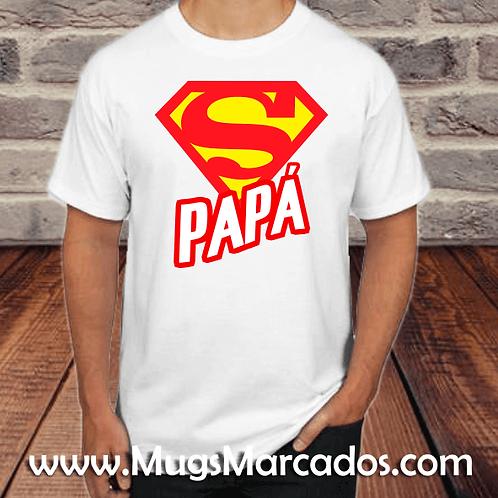 CAMISETA PARA PAPÁ | SUPER PAPÁ | REGALOS PARA PAPÁ