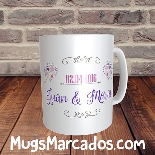 RECORDATORIO PARA MATRIMONIO | DREAMS | MUGS PARA BODAS