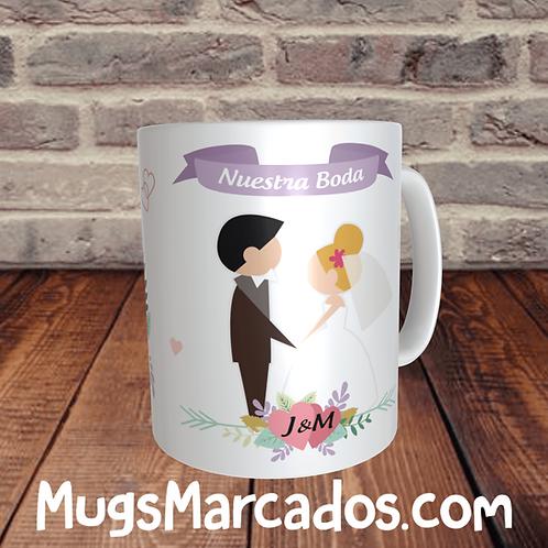 mugs para matrimonio
