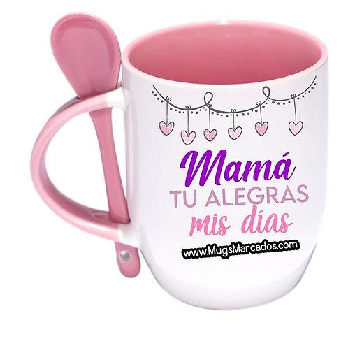 Día de la Madre | #99 | Regalo Personalizado  | Mug Con Cuchara