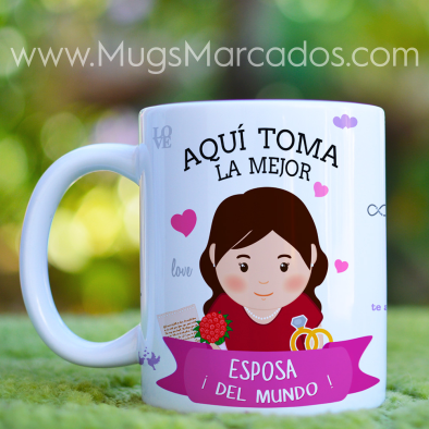 MUG LA MEJOR ESPOSA | PROFESIONES