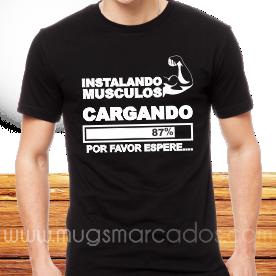 camiseta para ir al gimnasio