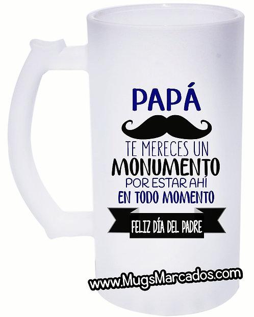 DÍA DEL PADRE   #80   REGALO PERSONALIZADO   PAPÁ   MUG CERVECERO