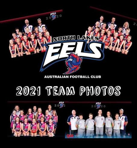 2021 Eels Team Photos
