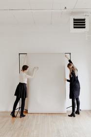 Beige paper backdrop