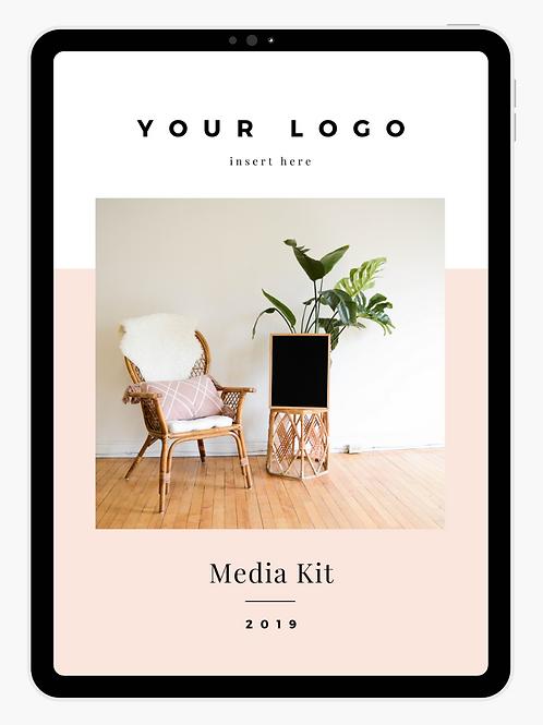 Customizable Media Kit - Kyla's Style