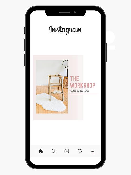 Instagram Template - Kinship style