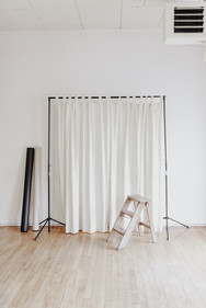 Hang your own curtain for your unique style