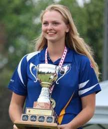 Under 18 Canadian Nationals in Winnipeg - Girls Gold Winner Emma Boyd