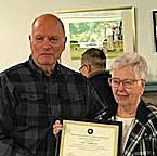 Special Recognition to Mary Hargreaves