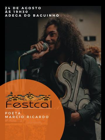 Poeta Marcio Ricardo