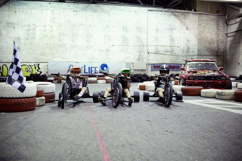 Drift Bandits Garage Trike driftikeskus