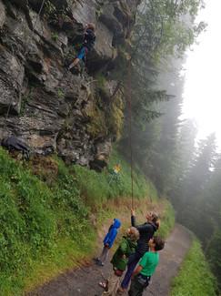 Kletterkurs mit Nicole