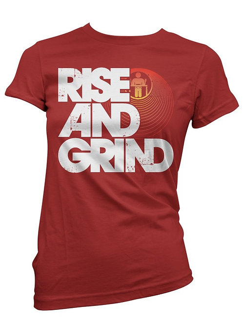 Red petite Rise and Grind