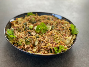Sesame Noodle Stir Fry - Ayurveda Style