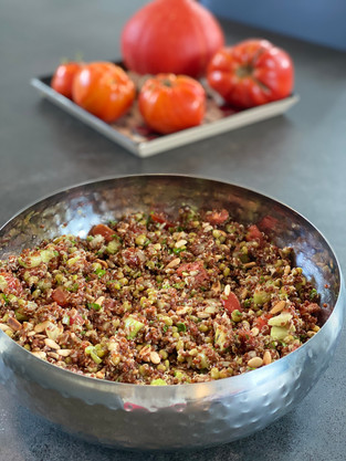 Red Quinoa Salad Festival