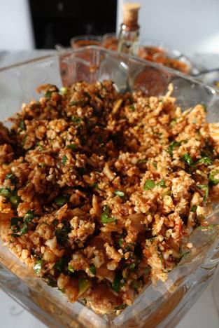 Cauliflower Salad - A Low Carb-Paleo Version of Turkish Kisir