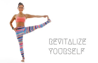 8 Weeks Revitalising Yoga Series for Women